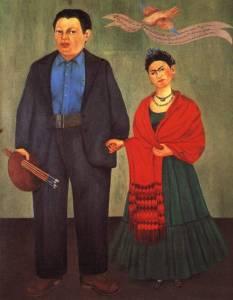 פרידה ודייגו, פורטרט חתונה, 1931