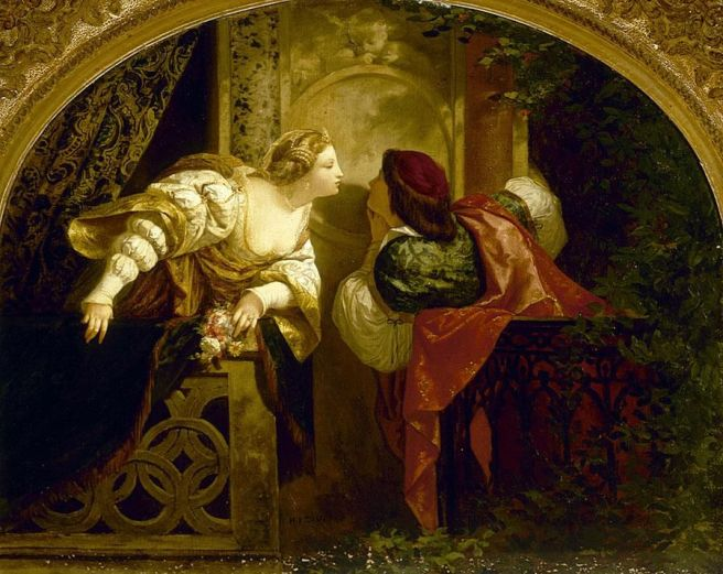 Picou, Henri Pierre - Romeo and Juliet